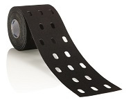 CureTape Punch Tape BLack Roll (5cm x 5m)