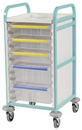 Caretray Trolley - Single Column