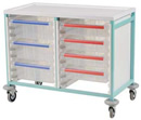 Caretray Trolley - Double Column CT208