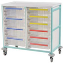 Caretray Trolley - Double Column CT210